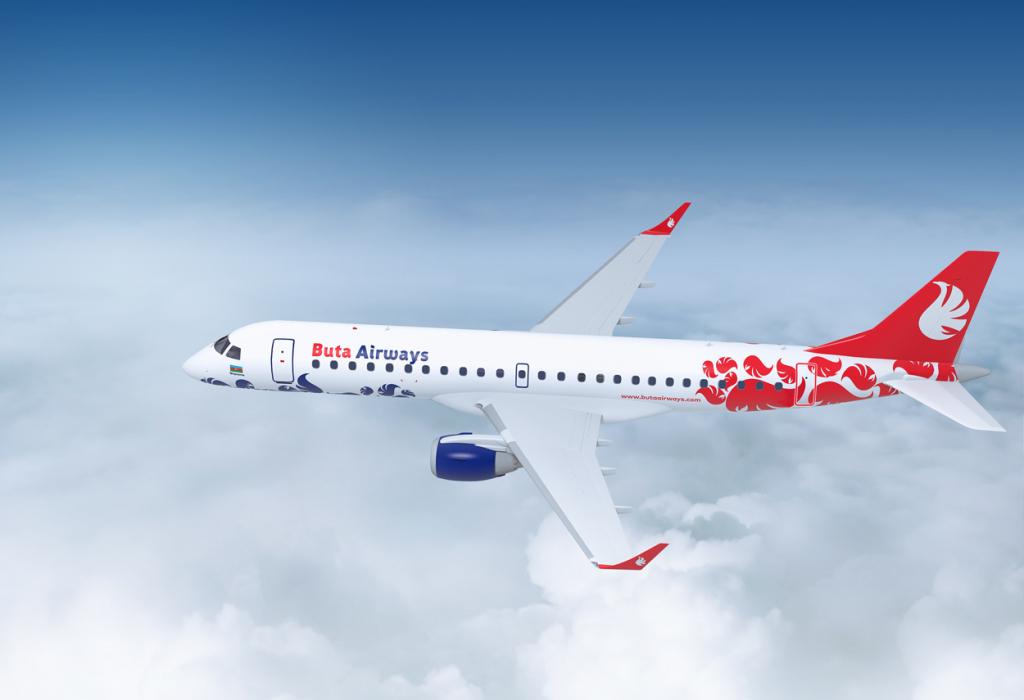 BUTA AIRWAYS თბილისის მიმართულებით რეგულარული ფრენების სიხშირეს ზრდის